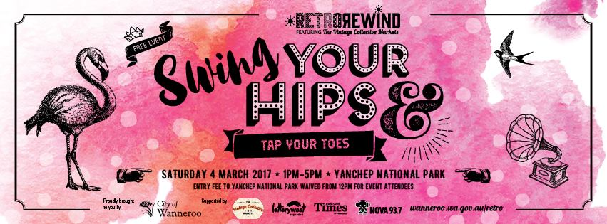 RetroRewind 2017 Swing your hips and tap your toes